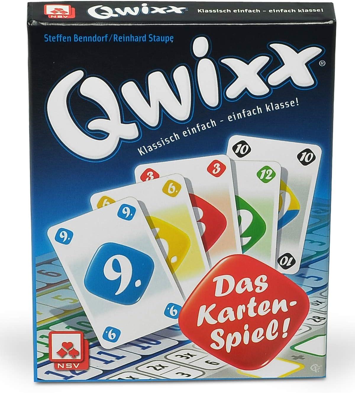 Nsv Qwixx - Das Kartenspiel [Importato Dalla Germania]