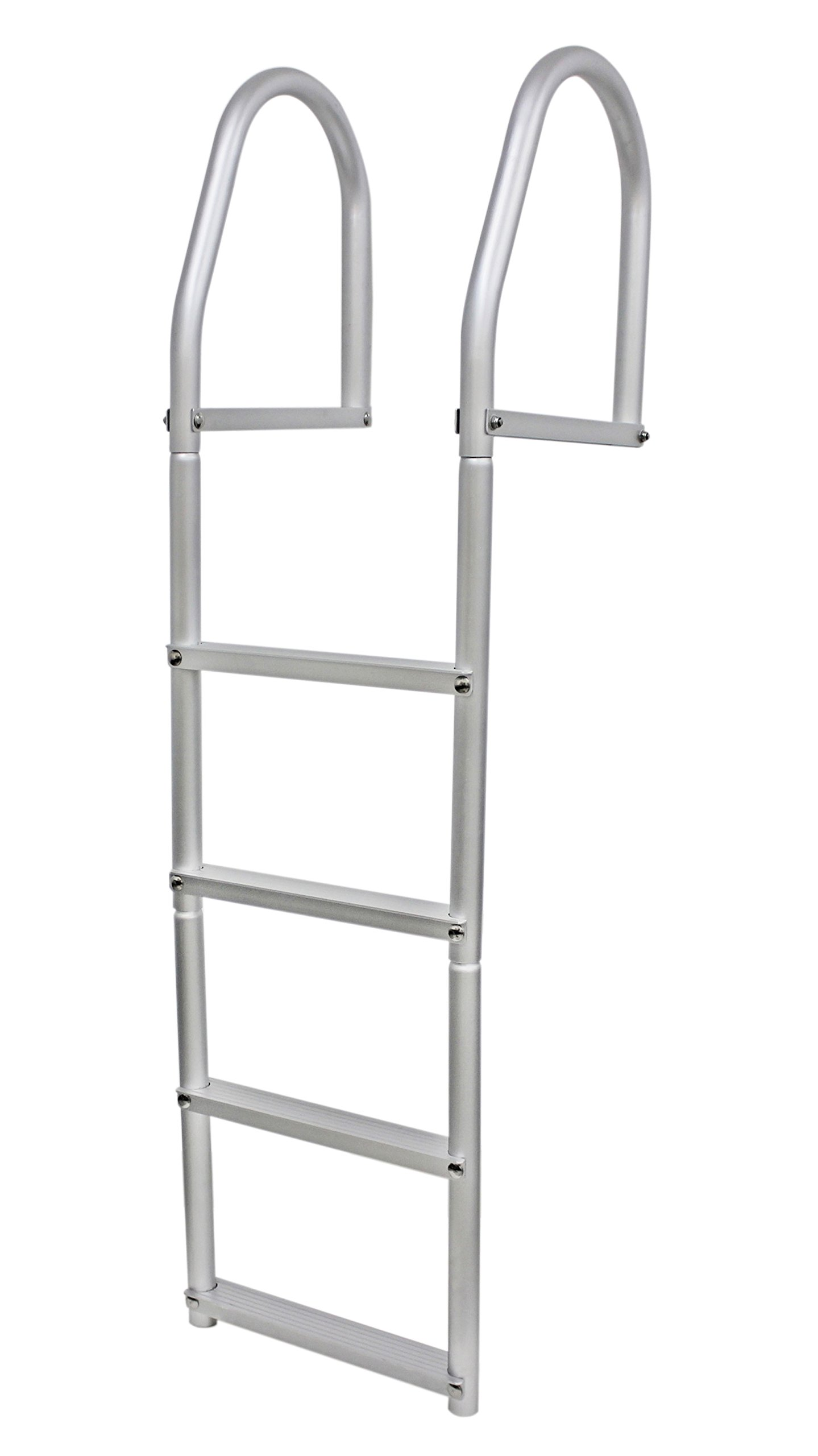 Extreme Max 3005.4105 Weld-Free Fixed Dock Ladder - 4-Step