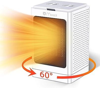 Moocii Calefactor Eléctrico PTC Calefactor de Aire Caliente con Ahorro de energía de Alta Tecno...