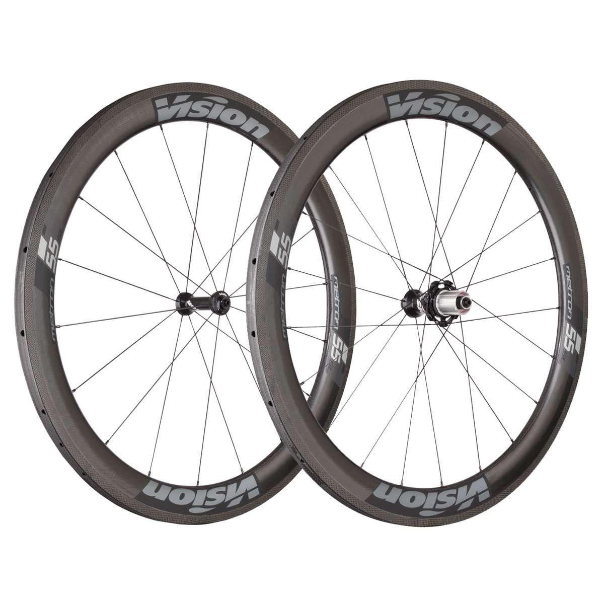 FSA Vision Metron 55 SL Tubular Bicycle Wheel Set - 710-0007191030