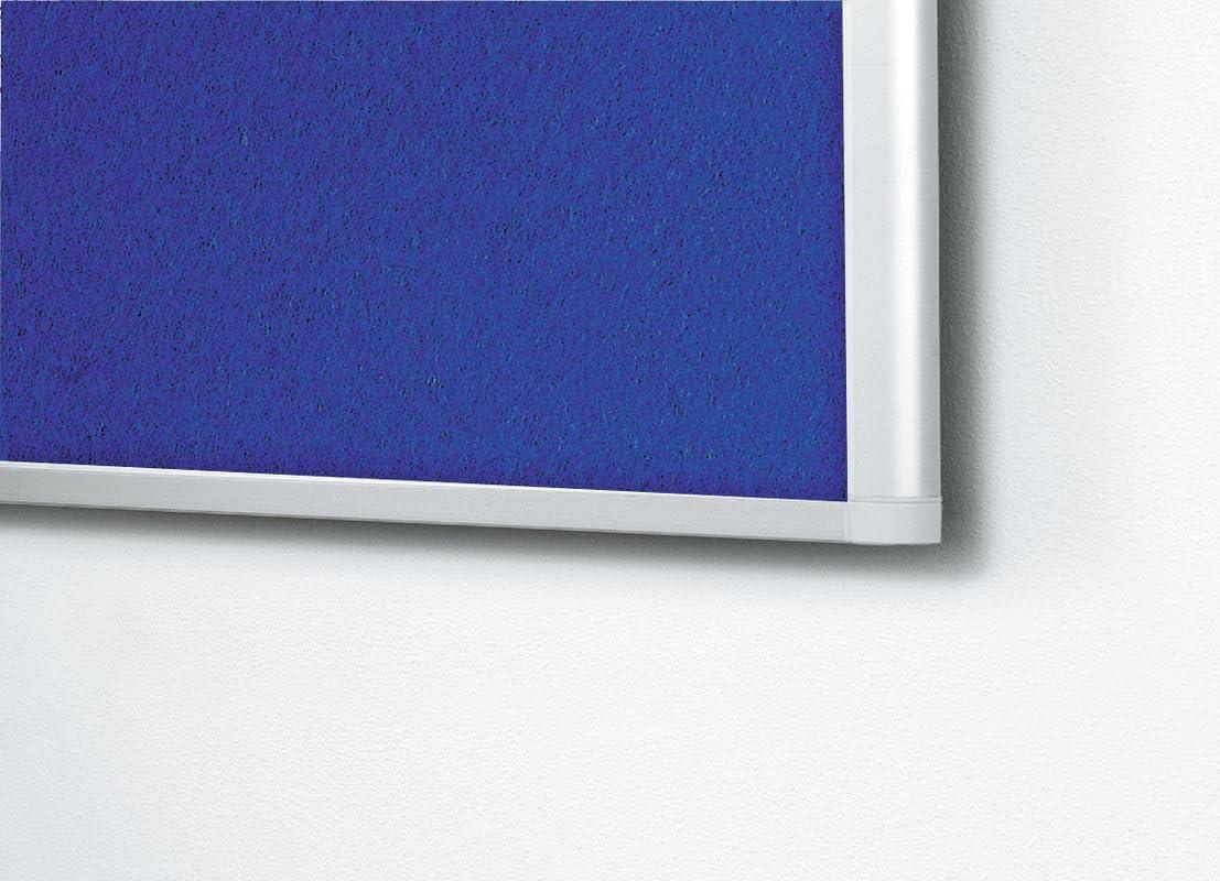 Legamaster 7-140243 Dynamic Pinboard Textil filzbespannt blau 90 x 60 cm
