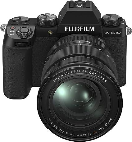 Amazon.com : Fujifilm X-S10 Mirrorless Digital Camera XF16-80mm Lens Kit - Black (X-S10 XF16-80mm Kit - Black) : Camera & Photo