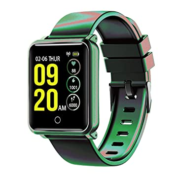 Seneo Reloj Inteligente Hombre, IP68 Smartwatch con Pulsera Actividad Reloj Deportivo Monitor de Sueño Pulsómetro Podómetro, Reloj Digital con ...