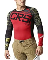 Reebok Men's Crossfit CNTRL II Compression Tee Shirt Black B87913