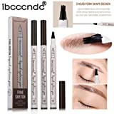 Eyebrow Tattoo Pen,DEESEE(TM) 3 Color New Durable