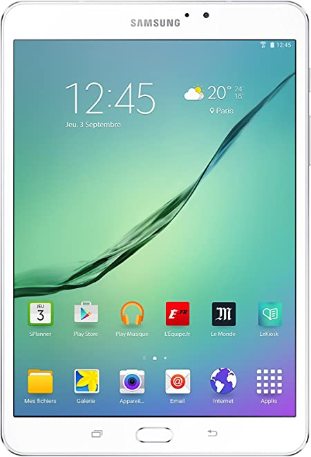 Samsung Galaxy Tab S2 SM-T710 32GB White - Tablet (1,9 GHz, 1,3 GHz, 3 GB, 32 GB, MicroSD (TransFlash), MicroSDHC, MicroSDXC, 128 GB)