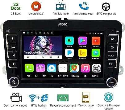 Navegación GPS para automóviles Android ATOTO A6 con Bluetooth ...