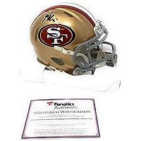 $119 » George Kittle San Francisco 49ers Signed Autograph Speed Mini Helmet Fanatics Authentic Certified