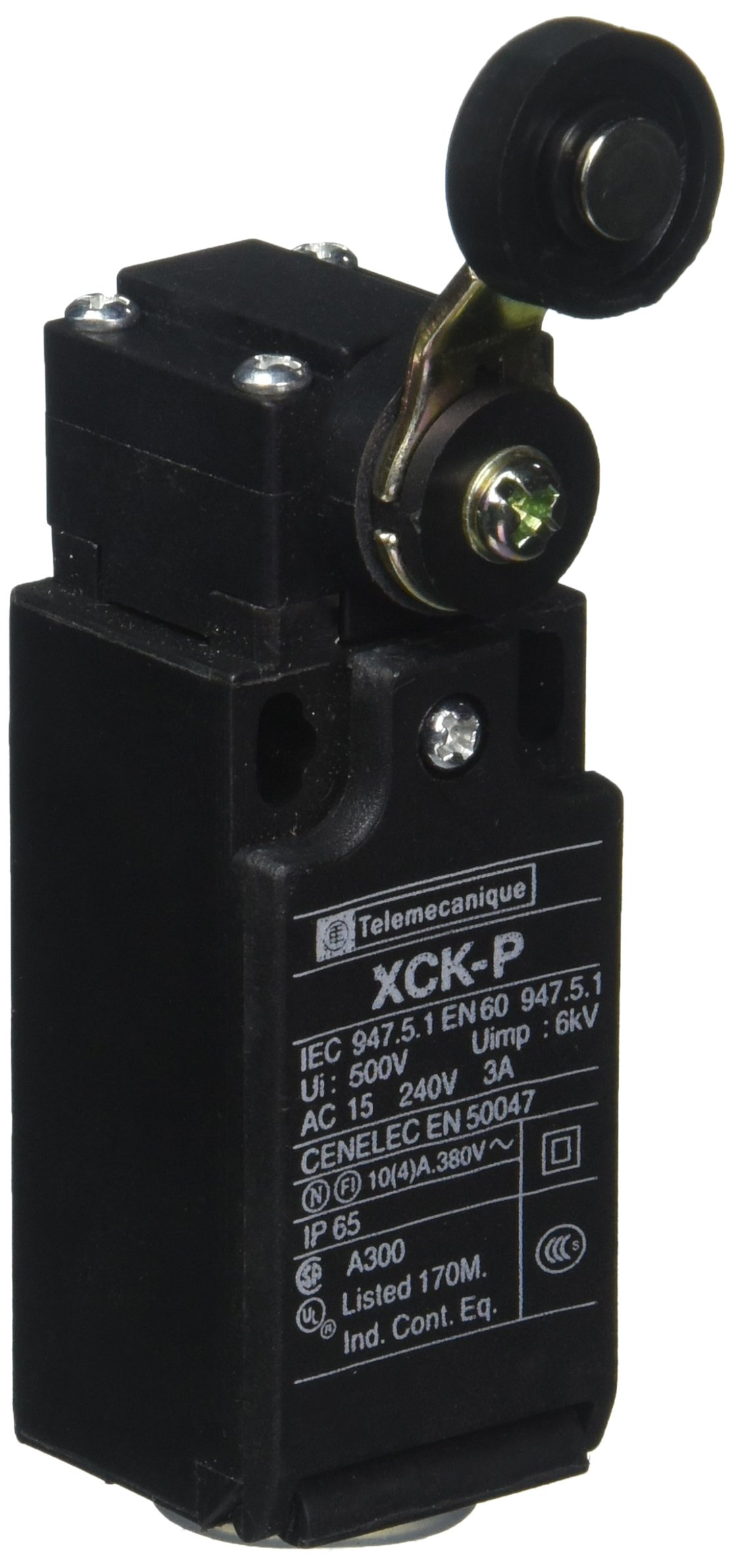 Uxcell SPDT 1NO 1NC AC 240V 3 Amp XCK-P Momentary Rotary Roller Plunger Limit Switch