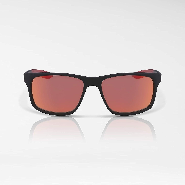 b738f6d3f Óculos NIKE Essential Chaser R Ev0998 006 Preto Vermelho Lente Espelhada  Vermelho Ouro Laranja Tam 59: Amazon.com.br: Amazon Moda