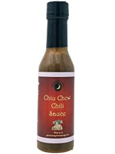 Chiu Chow CHILI SAUCE | Calorie Free | Fat Free | Saturated Fat Free | Cholesterol Free | Low Sugar | Crafted in Small Batches with Farm Fresh Herbs for Premium Flavor and Zest