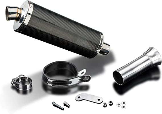 Delkevic Slip On Stubby 14 Carbon Fiber Oval Muffler to fit 1090 1190 Adventure /& 1290 Super Adventure 2014-2018