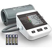 Tensiómetro de Brazo Digital, Annsky Monitor Eléctrico de Presión Arterial Medición Automática de la Presión Arterial y pulso de frecuencia cardíaca detección,2 memorias de usuario