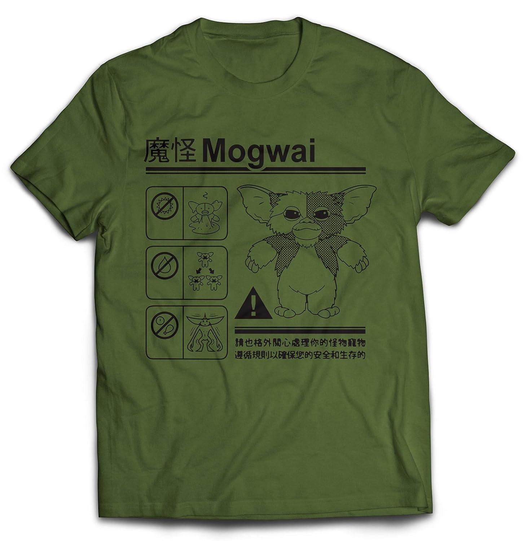 3b751982 Amazon.com: Revel Shore Gremlins Mogwai Warning Men's T-Shirt: Clothing