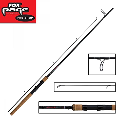 Fox Rage Warrior Cañas De Spinning - 2.70m 9 pies 20-60g: Amazon ...
