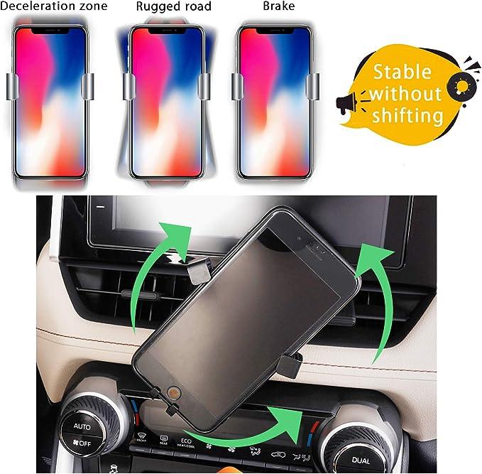 YEE PIN Phone Holder Phone Mount for CRV 2018 2019 2020 Car Phone Mount Cell Phone Mount Compatible with Any 4-6.5 Inches Smartphone