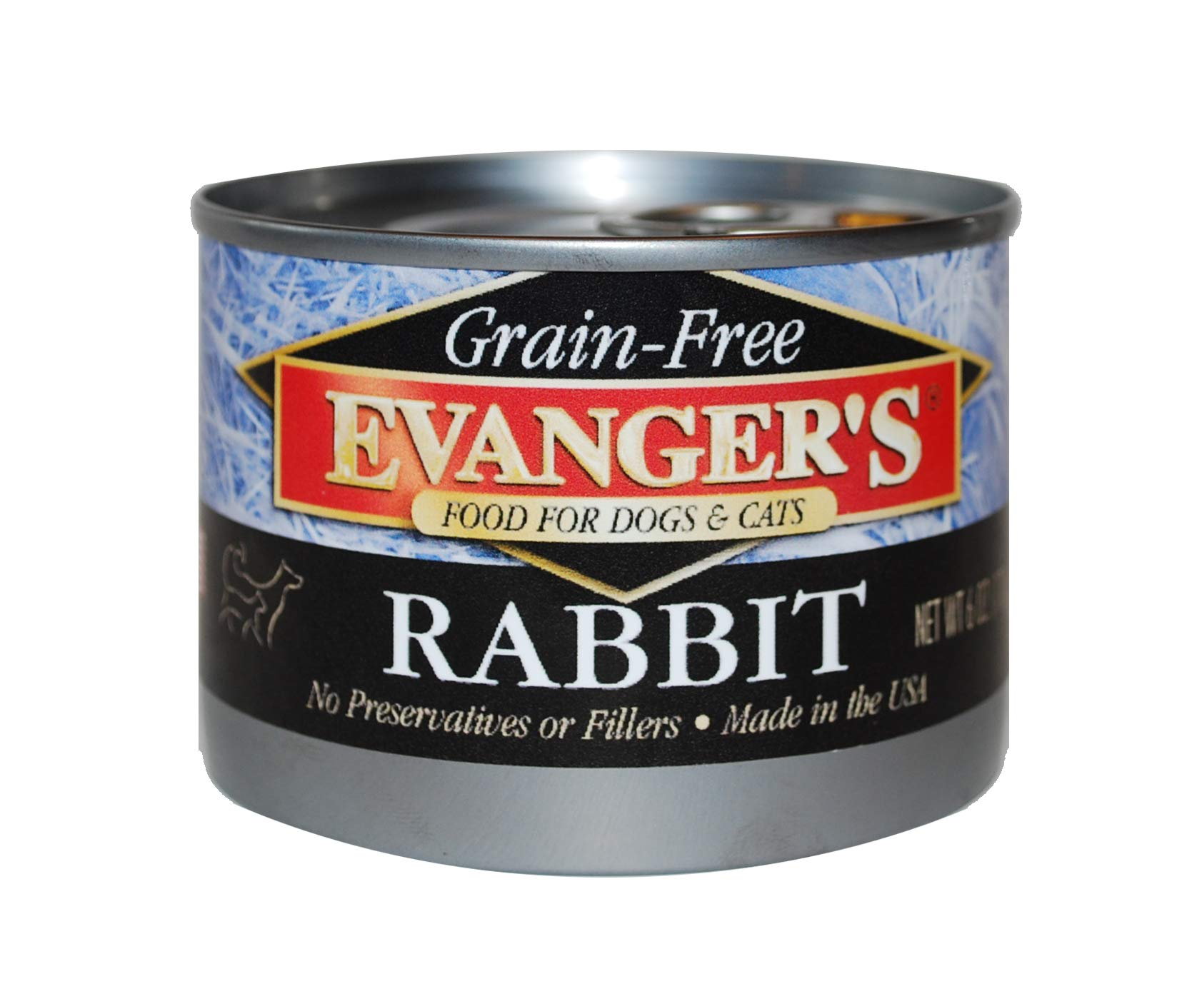 Evanger'S Grain-Free Rabbit Canned Food (24 Pack) by Evangers