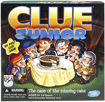 Hasbro Clue Junior Board Game The Case of the Missing Cake by Hasbro: Amazon.es: Juguetes y juegos