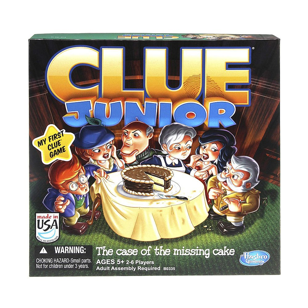 Amazon Hasbro Clue Junior Board Game The Case Of The Missing