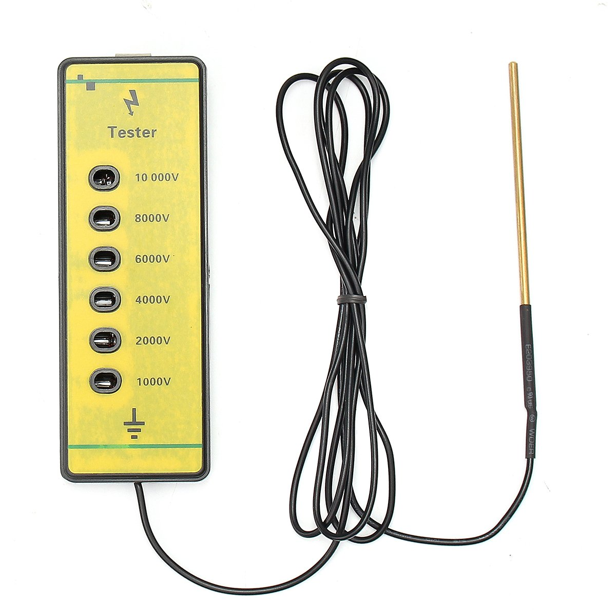 KUNSE Farm Electrical Fence Voltage Tester Fencing Poly Wire Tape Rope Energiser Tool