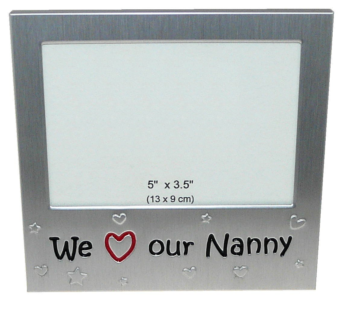 Amazon.com - We Love Our Nanny \' - Expressions Photo Picture Frame ...