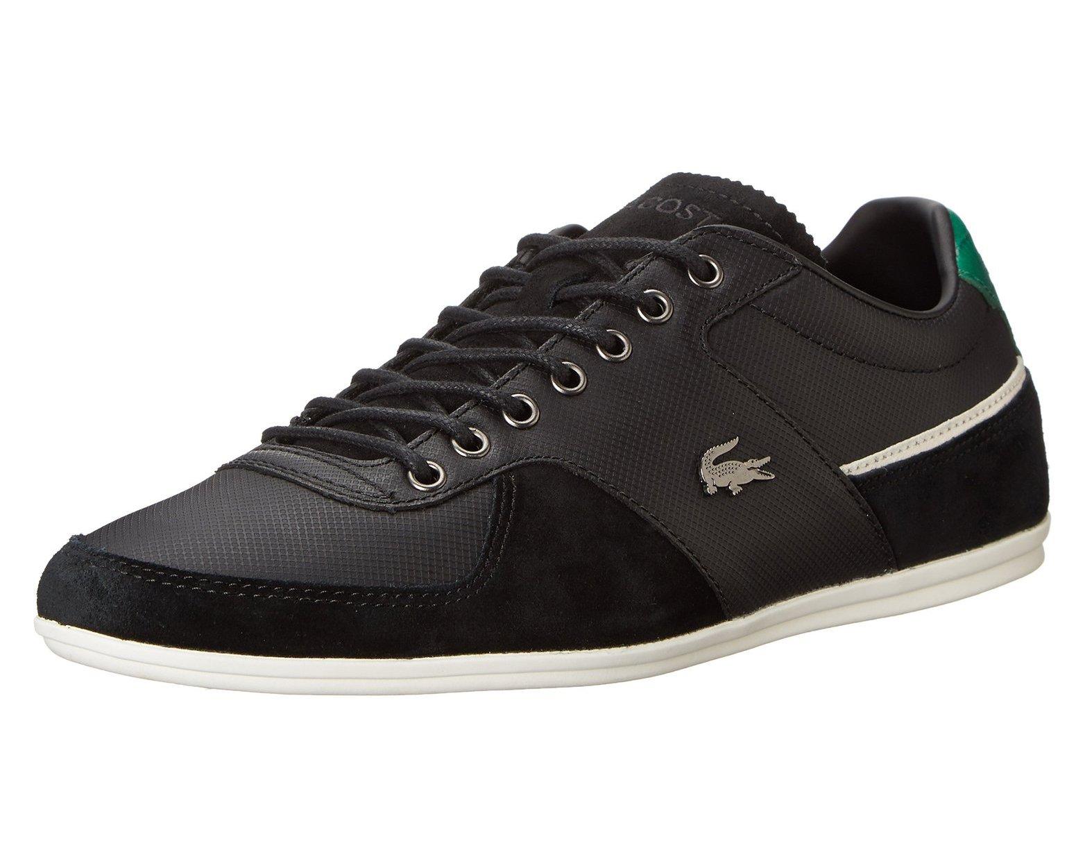 Lacoste Men's Taloire 16 Fashion Sneaker, Black, 11 M US