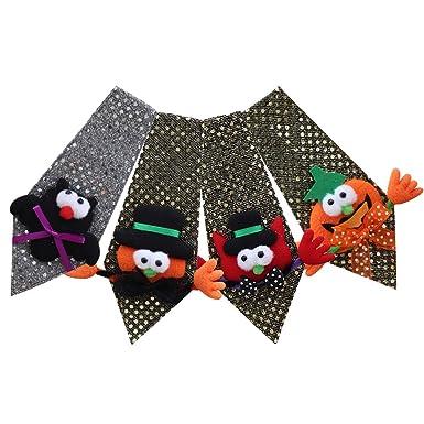 Fascigirl 4 Piezas Corbata De Halloween Corbata De Los Niños ...