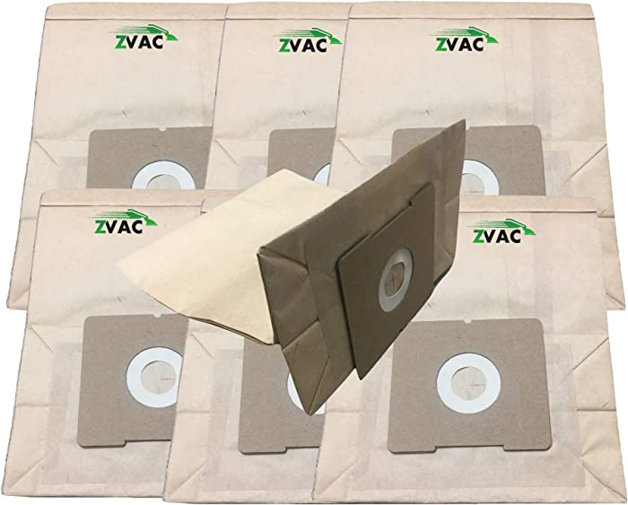 ZVac 7Pk Compatible Bissell Zing Vacuum Bags Replacement 4122 2138425 213-8425 Bissell Zing Bags Generic