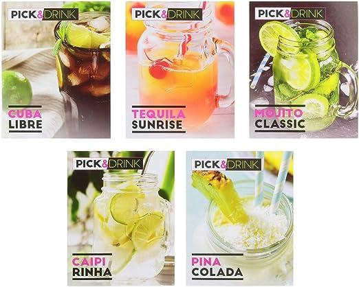 Pick&Drink CMKDO8598 Kit Mojito 4 Mugs C/Mano M, Metal, 10,30 x 7,50 x 13,20 cm