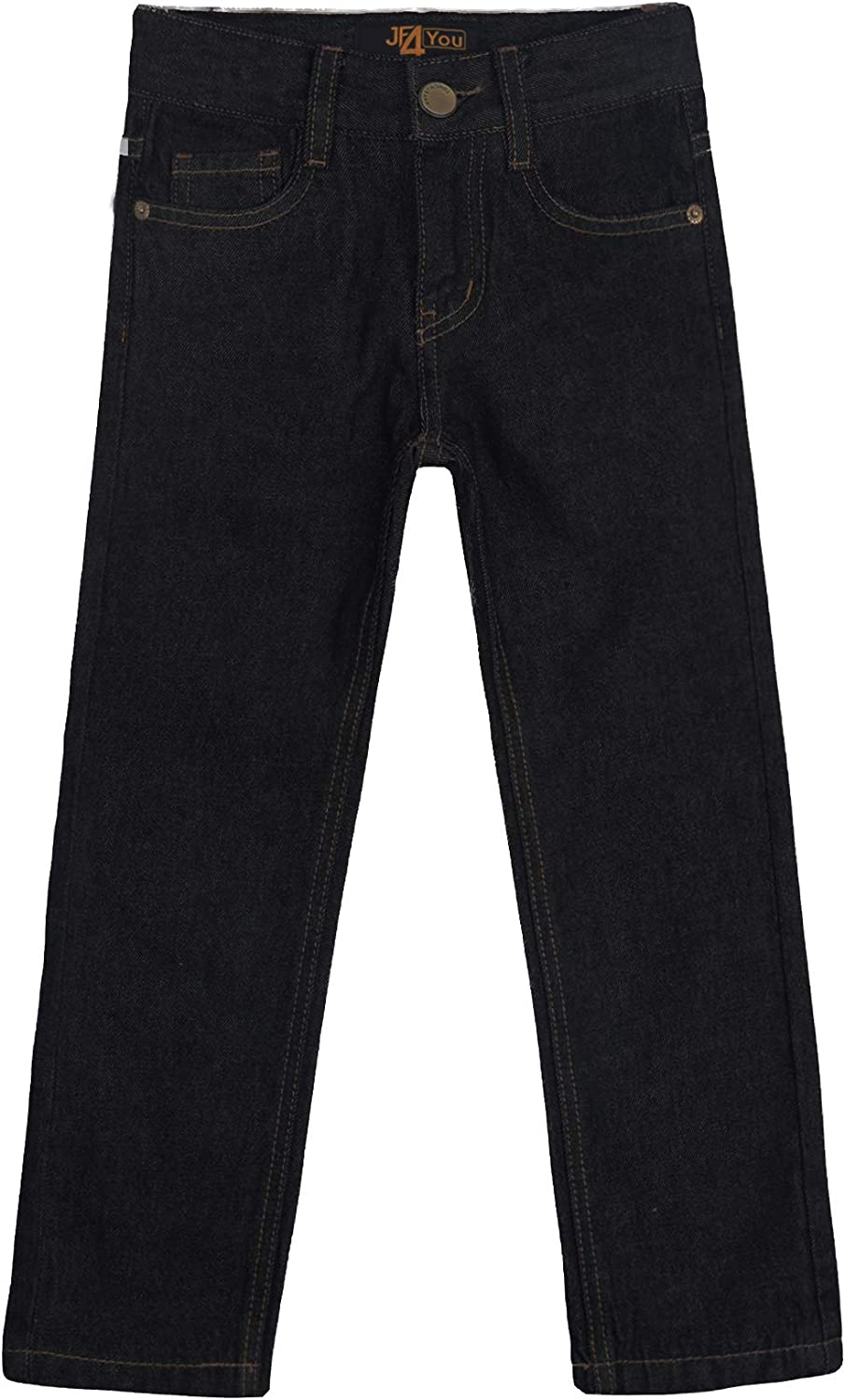 Designer Boys Jeans Adjustable Waist Trousers Black Blue Denim Wash Age 2 3 4 5 6 7 8 9 10 11 12 13 14 15 16 Years Justfound4You