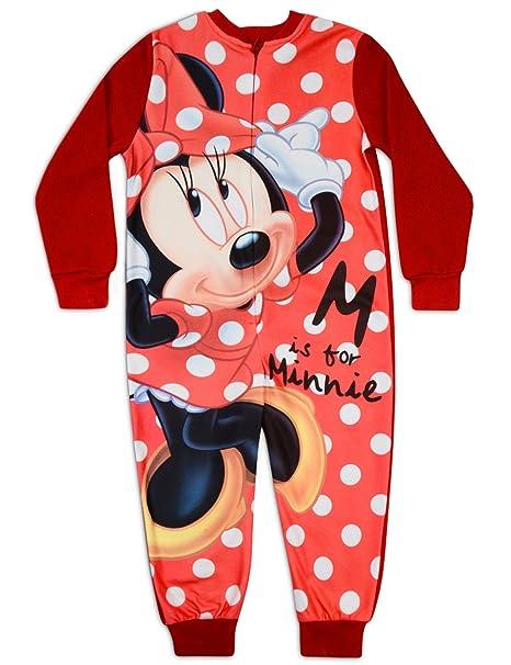 enorme sconto 5ec1d df796 Disney - Minnie Mouse in pile pigiama intero edardo: Amazon ...