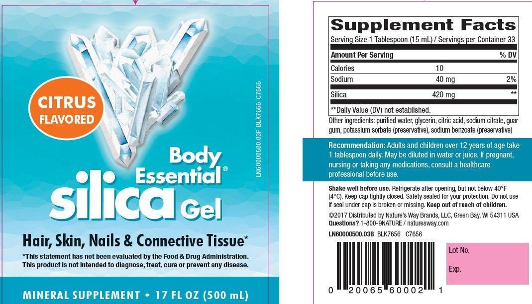 Nature's Way - Body Essential Silica Gel 17oz ( Multi-Pack)