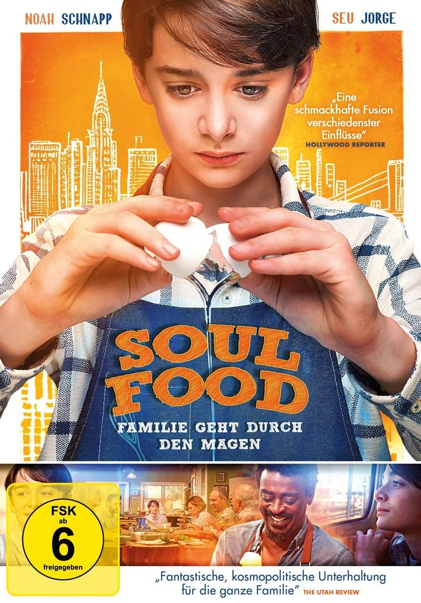 Soul Food-Familie Geht Durch Den Magen