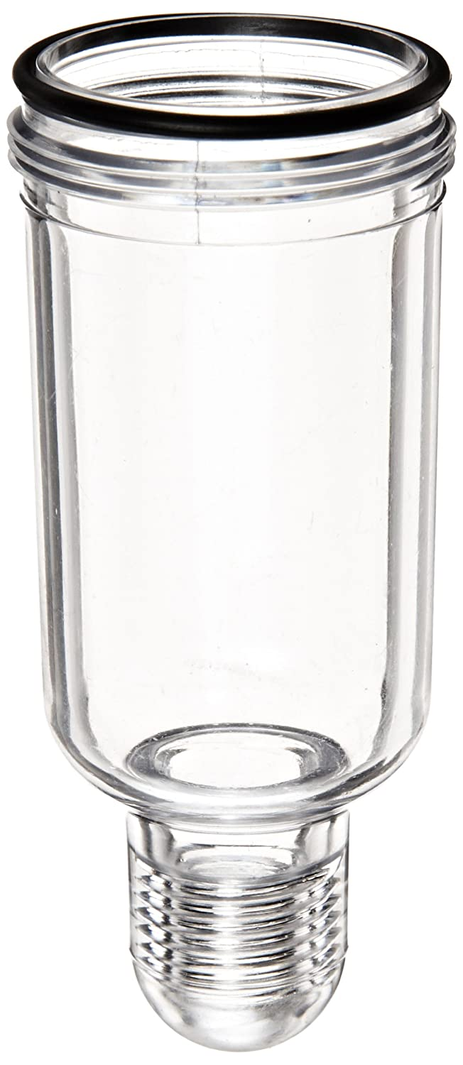 Parker PS421P Polycarbonate Bowl with No Drain for 04L Series Lubricator, 1oz Capacity, 150 psig by Parker  B008483WVY