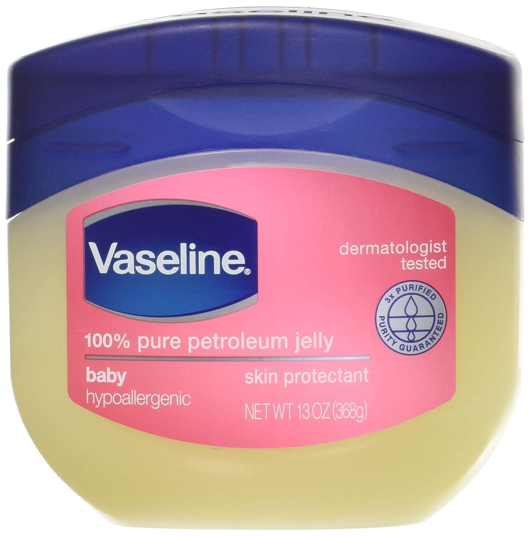 Vaseline 100% Pure Petroleum Jelly, Baby 13 oz