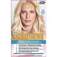 L'Oréal Paris Excellence Creme 01 Very Light Natural Blonde (100 Percent Grey Coverage)