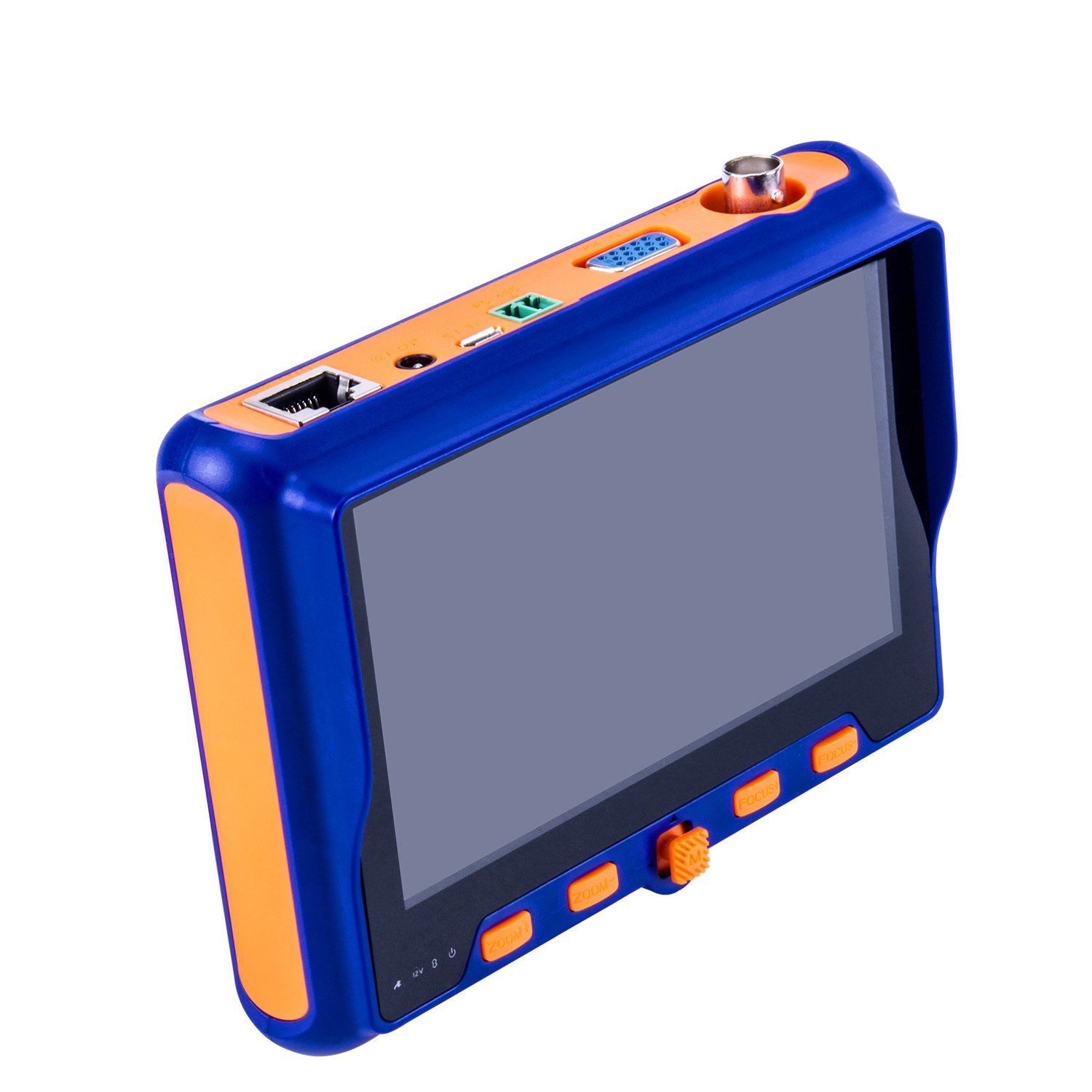 5'' Wrist TFT LCD CCTV Tester 1080P 4 IN 1 AHD TVI CVI CVBS Tester Analog Video Test PTZ Control 12V Power Output Cable Test and security Camera Tester Multi-function CCTV tester OM-5800