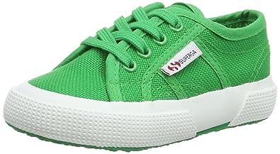 2750 Bebj Baby Classic - Low-Top Sneakers Mixte Enfant, Vert (Island Green), 5.5 ChildSuperga