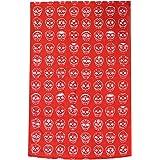 Red Sugar Skull Towel