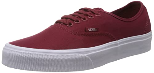 3a58ebbfe24dab Image Unavailable. Image not available for. Colour  Vans Unisex Maroon Authentic  Casual Shoes
