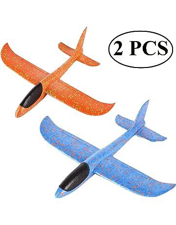 Ouinne 2 Piezas Planos de Espuma los Planeadores Glider Juguete Lanzamiento de Mano Modelo de Avion