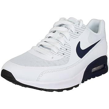 Nike Damen Air Max 90 Ultra 2.0 Weiß Leder Sneaker 37.5