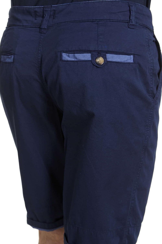 Armor Lux Pantalón corto para hombre azul marino 44