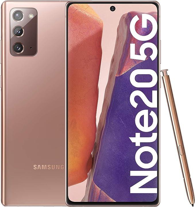 Samsung Galaxy Note20 5G Smartphone Android Libre de 6.7