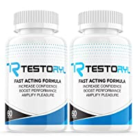 (2 Pack) Testoryl Pills Supplement for Men, Testoril Pills (120 Capsules)
