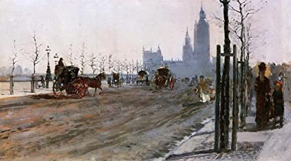 Amazon Com Giuseppe De Nittis The Victoria Embankment London 14 1
