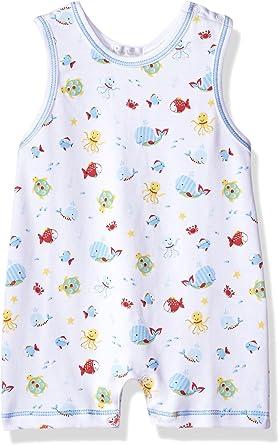 Kissy Kissy Baby-Boys Infant Under The Sea Print Sleeveless Short Playsuit Set