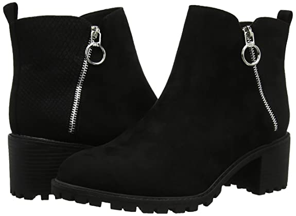 New Look Chile Botines para Mujer, Negro (Black 1), 40 EU (7 UK): Amazon.es: Zapatos y complementos