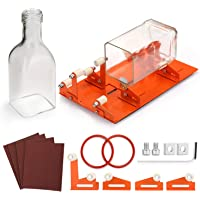 Rouge ZJchao Durable Verre Bouteille D/écoupeur Machine Coupe Vin Bi/ère Fraise pour Faire la D/écoration