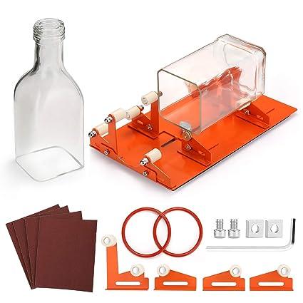 Amazon.com: FIXM - Cortador de botellas de cristal, versión ...